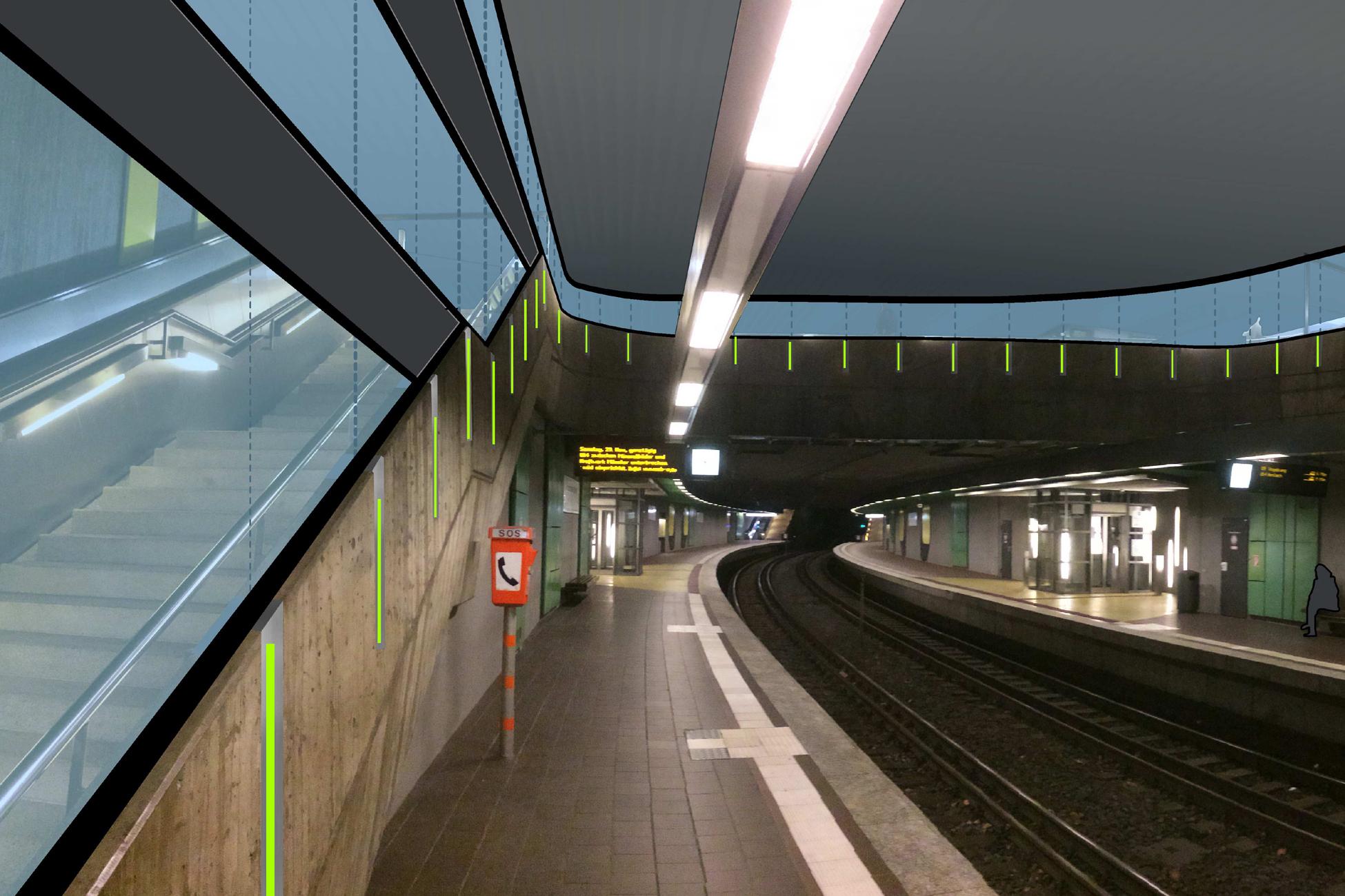 """Brandschutz-Ertüchtigung Stadtbahnhaltestelle """"Börse"""""""
