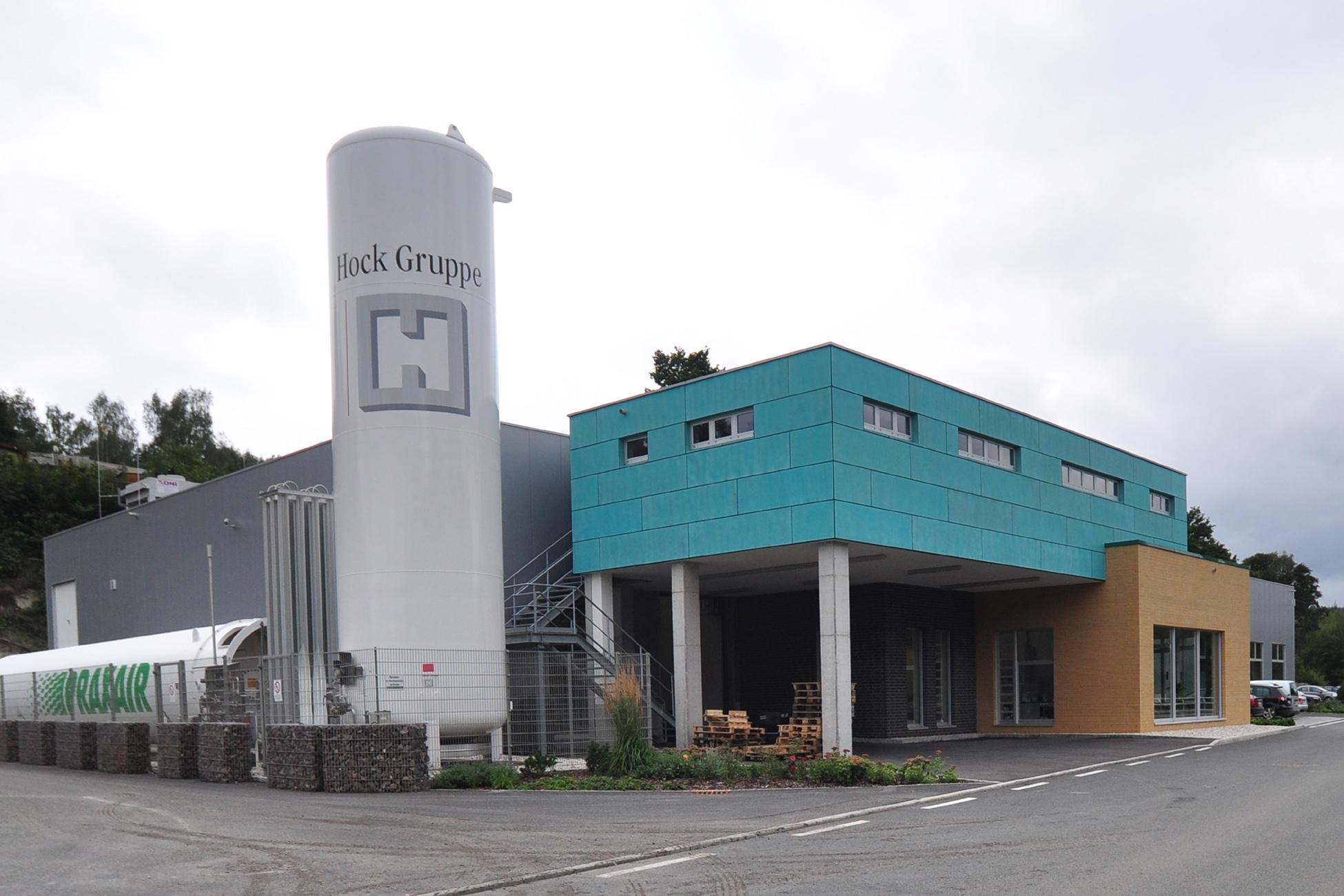 Neubau Produktionshallen Schwarzenberg