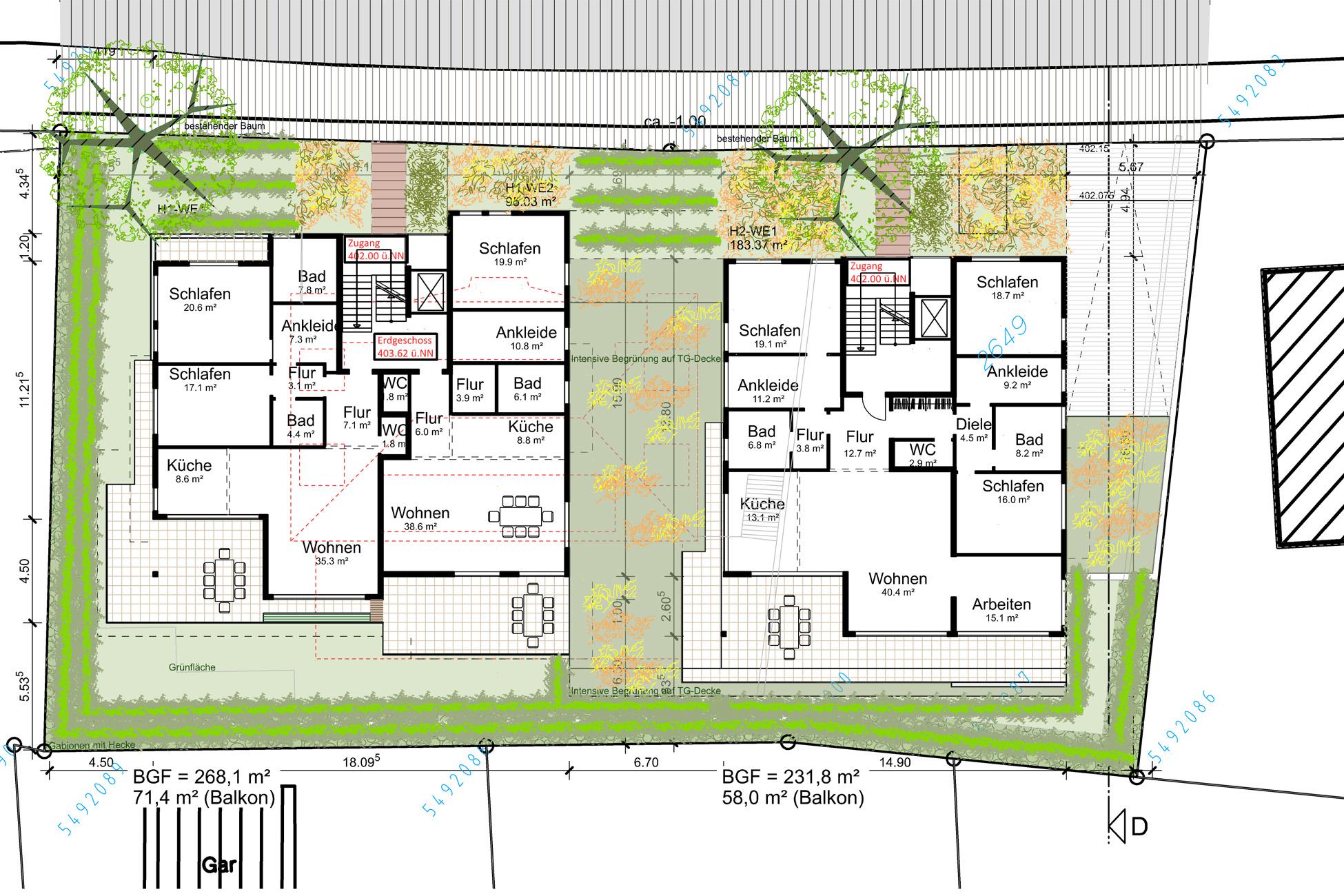 Projektentwicklung Wohnbebauung Überlingen
